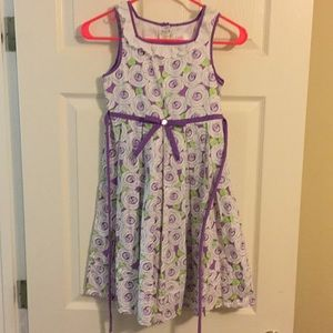 Girls size 10 spring dress